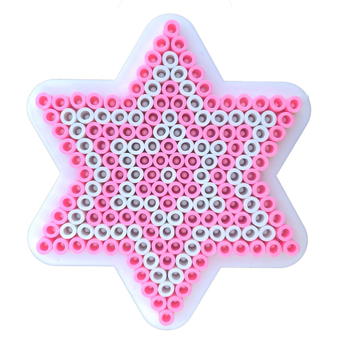 Stjärna med rörpärlor